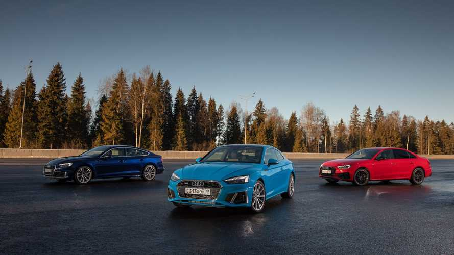 Российский тест-драйв обновленных Audi A4 и A5
