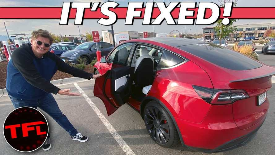 The Finale Of TFL's Tesla Model Y Broken Rear Door Handle Story