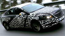 Opel sponsored Insignia Spy Photos