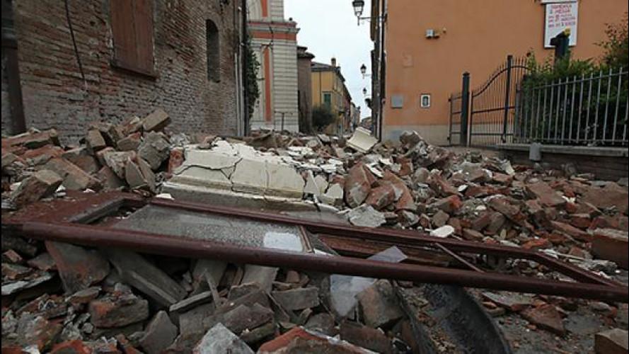 Terremoto in Emilia: nuova scossa nel Nord Italia