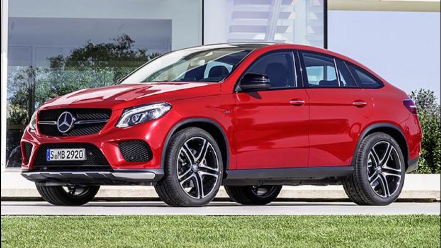 Mercedes GLE Coupé, il SUV sportivo