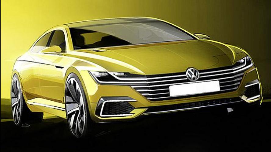 """Volkswagen Sport Coupé Concept GTE, lo """"stil novo"""""""