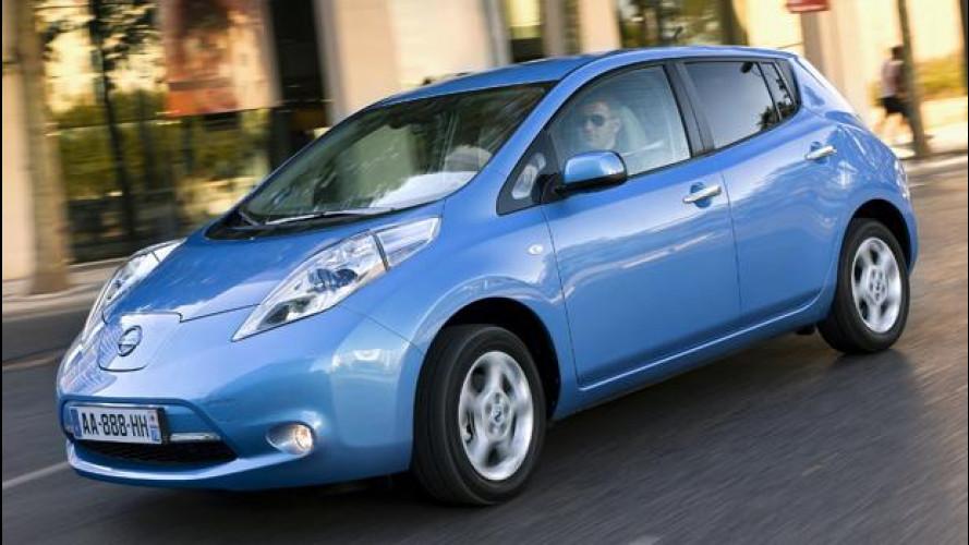 Nissan Leaf, arriva lo sconto di 3.000 euro
