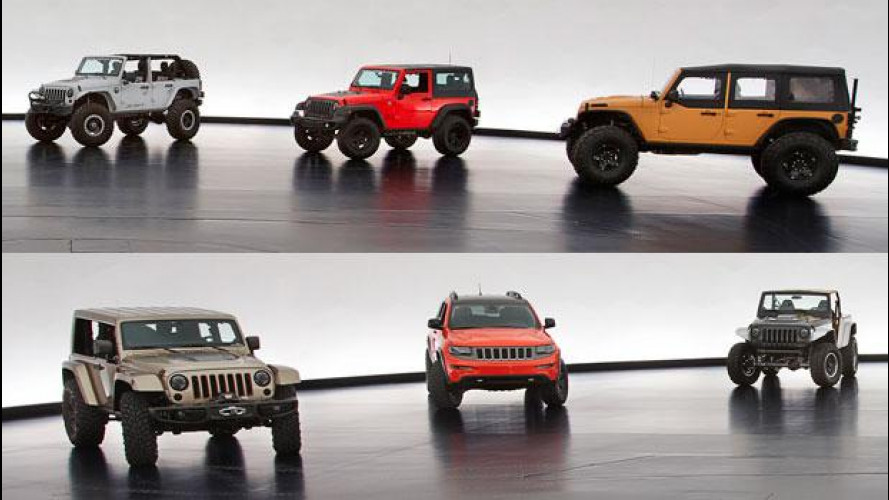 Jeep e Mopar, 6 concept per l'Easter Jeep Safari 2013