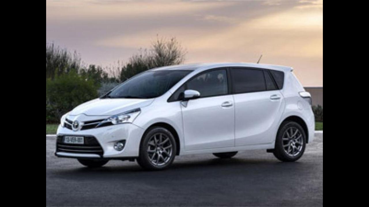 [Copertina] - Toyota Verso restyling, listino prezzi da 20.950 euro