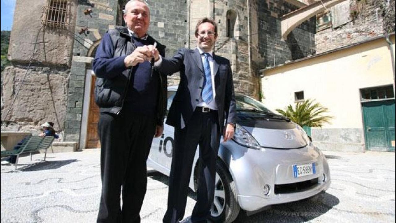 [Copertina] - Peugeot iOn sostiene la rinascita delle Cinque Terre