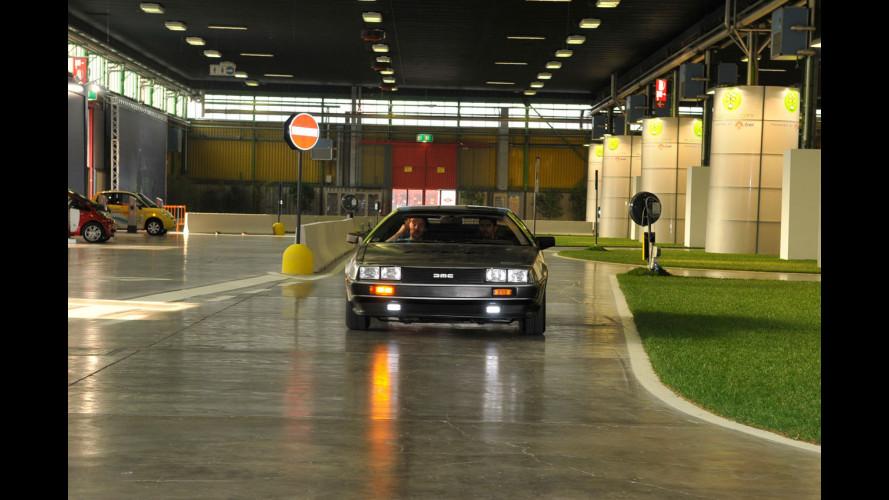 """Al Motor Show si guida la DeLorean di """"Ritorno al Futuro"""""""