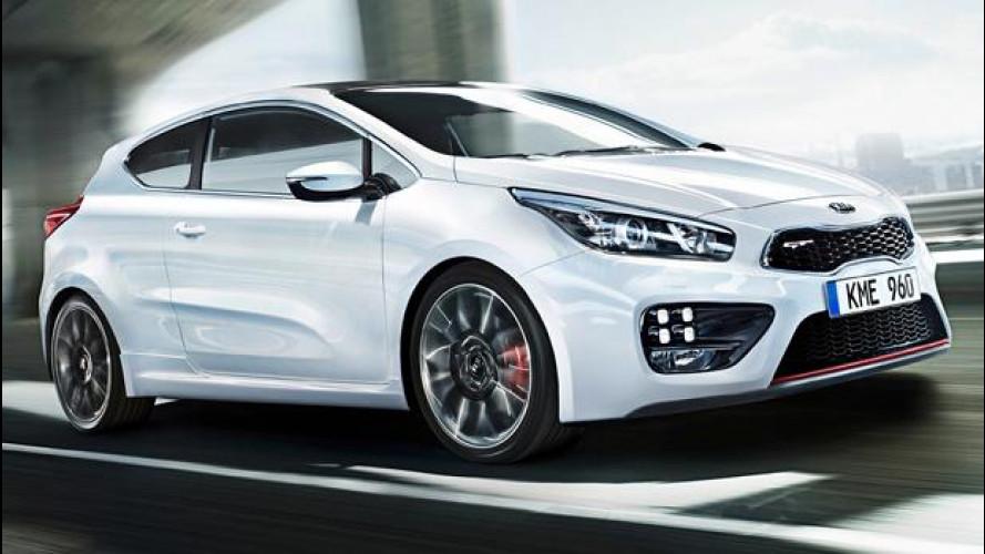 Kia cee'd GT e pro_cee'd GT debutteranno al Salone di Ginevra 2013