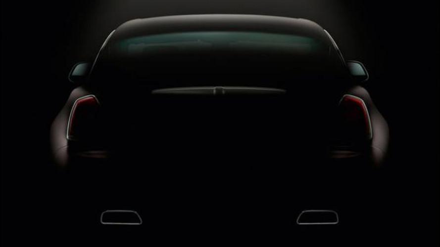 Rolls-Royce Wraith, il secondo teaser