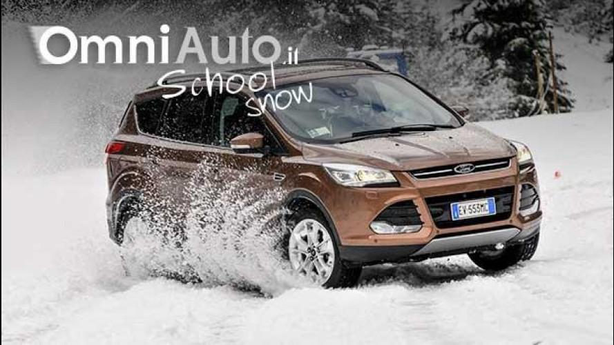 A lezione di guida sulla neve con OmniAuto.it e Miki Biasion!