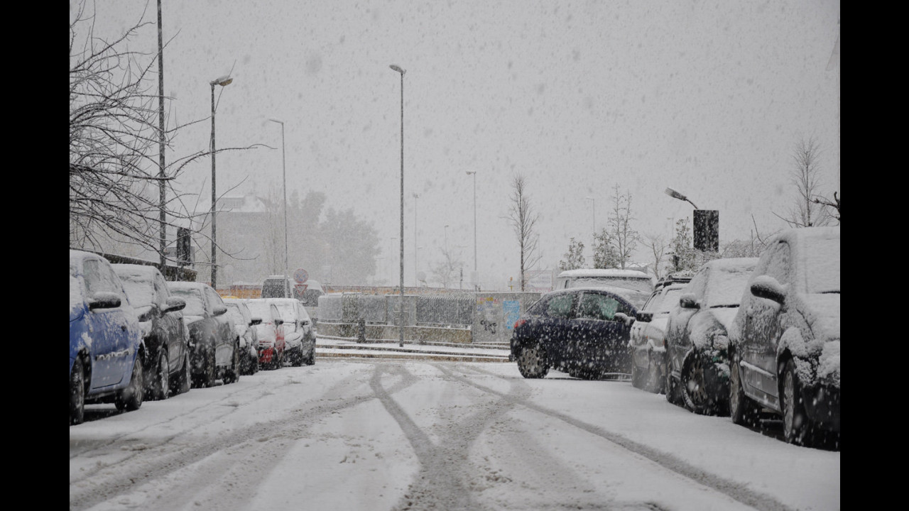Neve a Roma