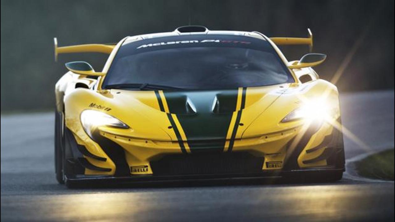 [Copertina] - McLaren P1 GTR, la pista è il suo mondo