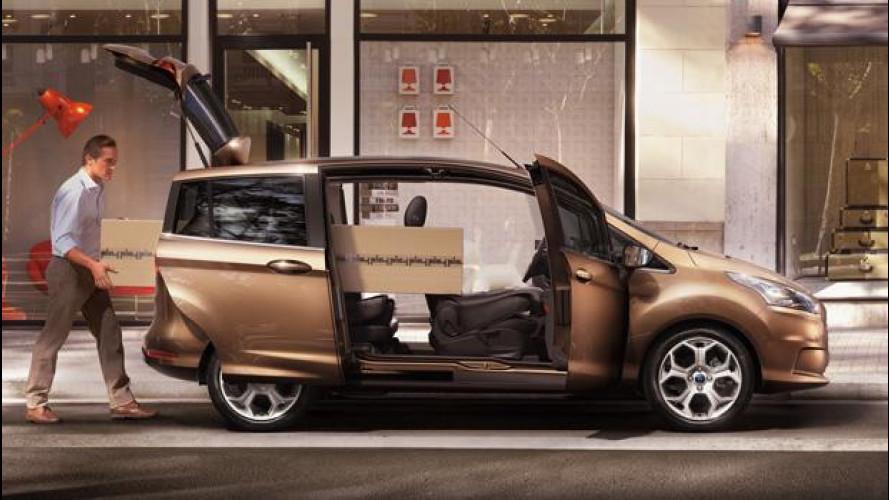 Ford B-Max, prezzi da 16.250 euro