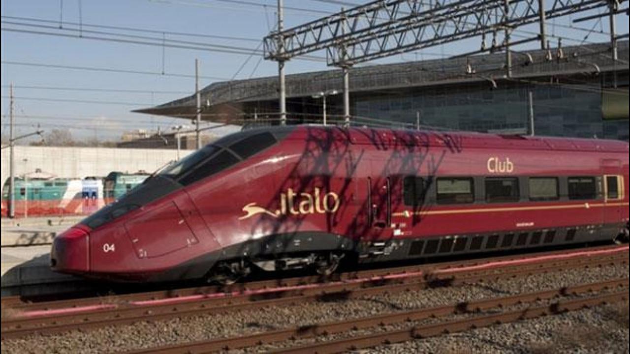 [Copertina] - Trasporti: Italo, il treno di Montezemolo, ha effettuato il viaggio inaugurale