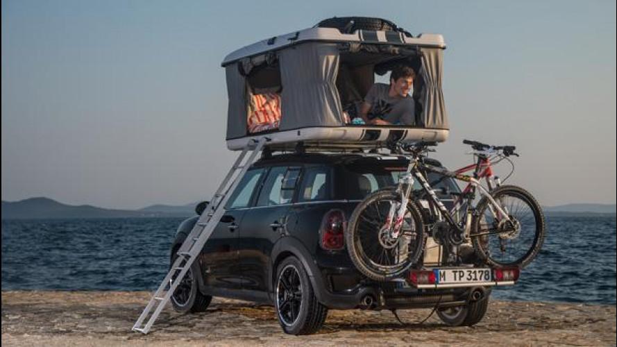 MINI: tre idee per il campeggio