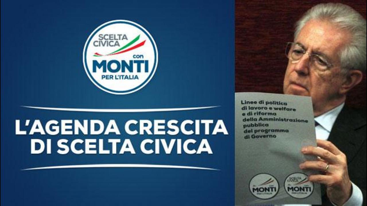 [Copertina] - Elezioni 2013, cosa propone Mario Monti per noi automobilisti