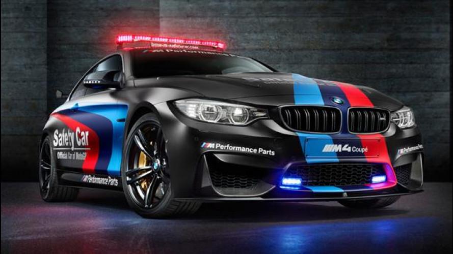[Copertina] - BMW M4 Coupé, svelata la Safety Car della MotoGP 2015