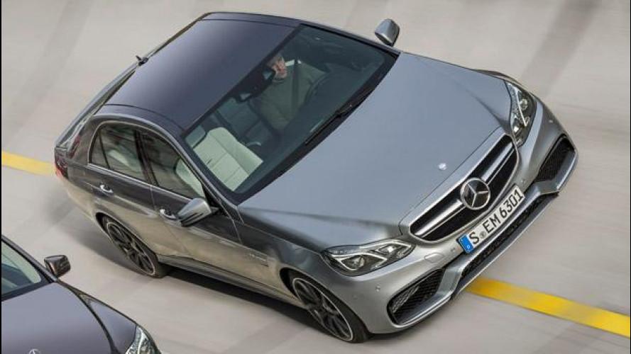 Mercedes E 63 AMG restyling: la prima foto