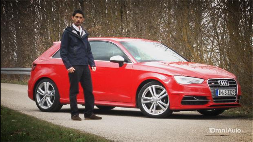 Nuova Audi S3, la