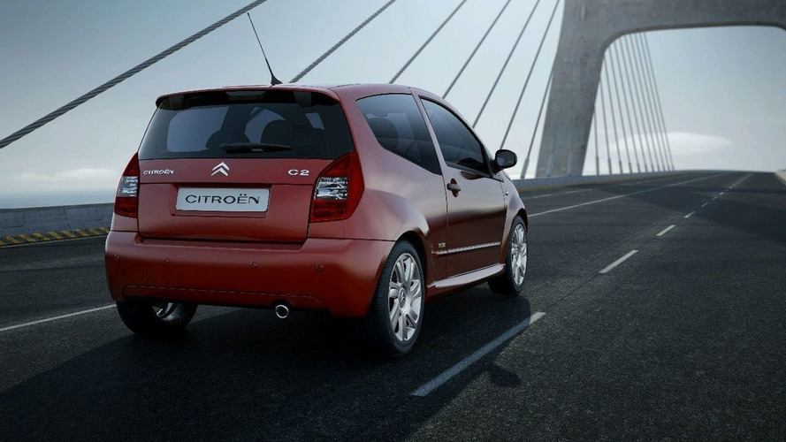 Citroen C2 Facelift Revealed
