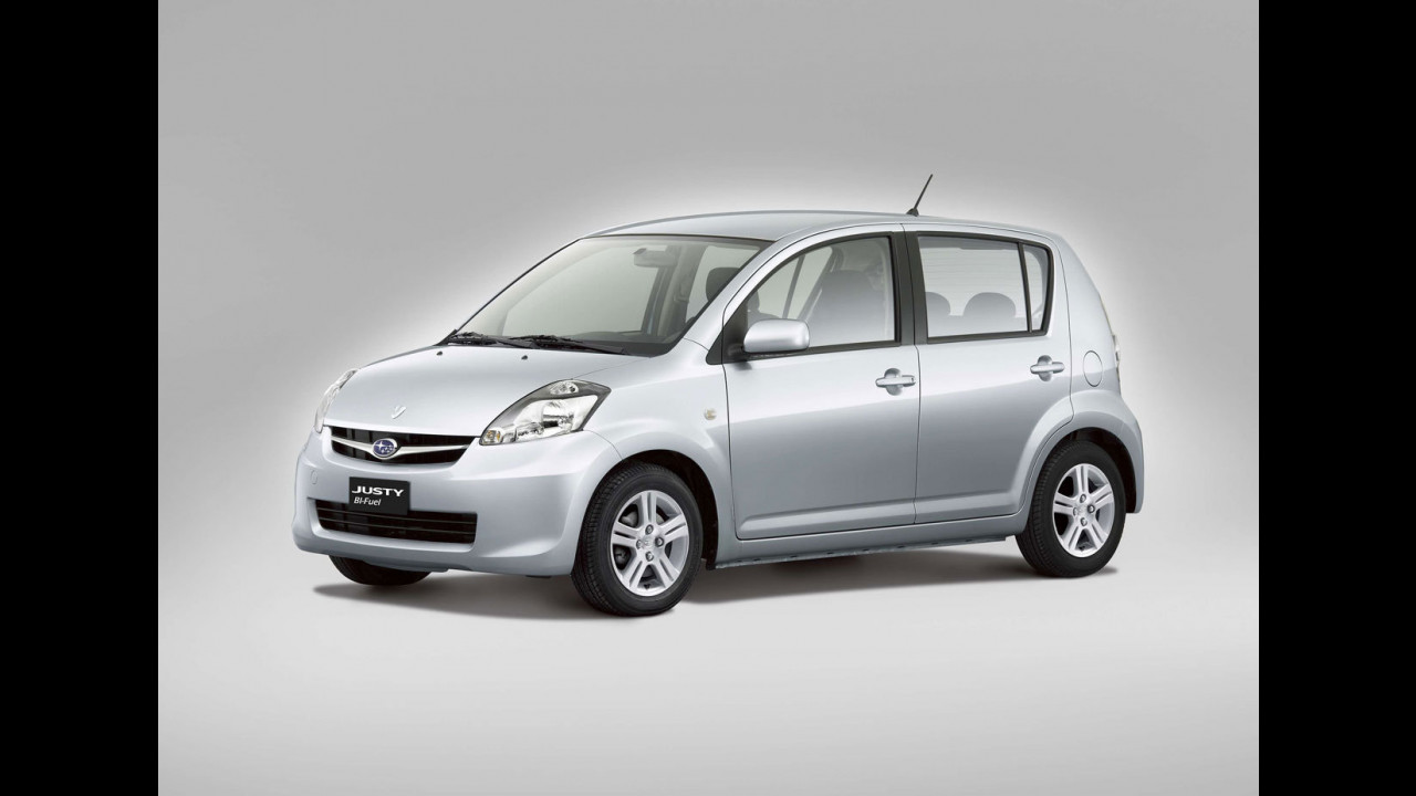 Nuova Subaru Justy bi-fuel