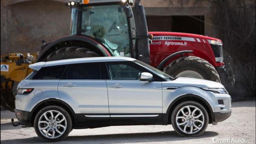Range Rover Evoque, il trailer del Social Test