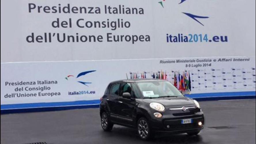 Semestre italiano, le auto blu sono Fiat