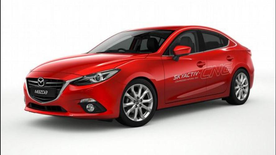 Nuova Mazda3 Skyactiv-CNG Concept a metano