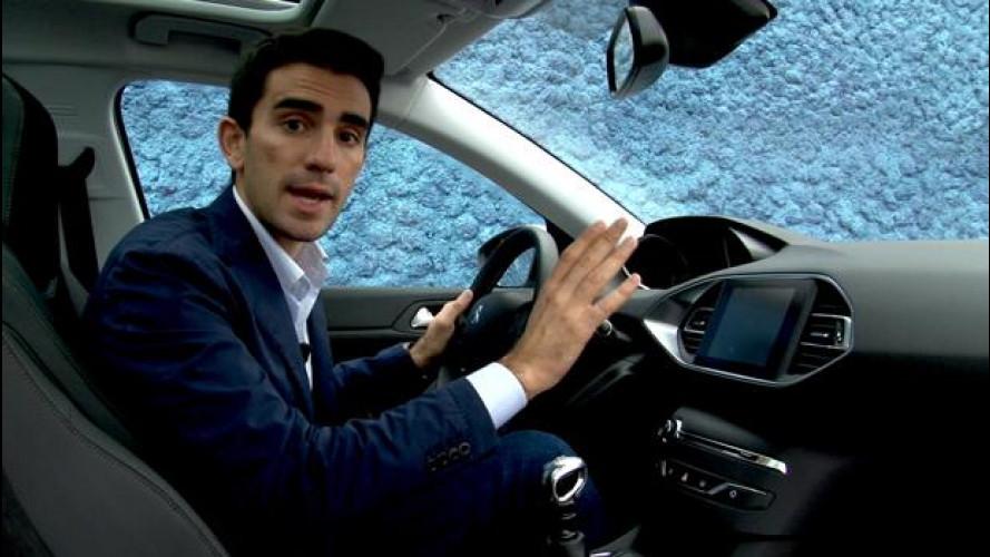 """Il """"Peugeot Touchscreen"""" della nuova 308 [VIDEO]"""
