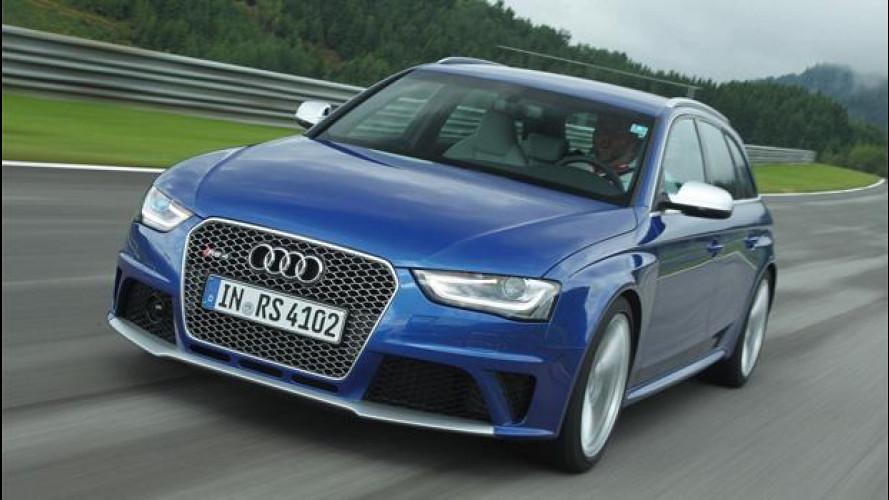 Audi RS 4 Avant: station seria, sportiva sul serio