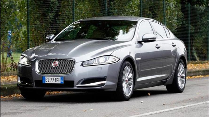 Jaguar XF 2.2D MY 2014: il diesel (depotenziato) che mancava