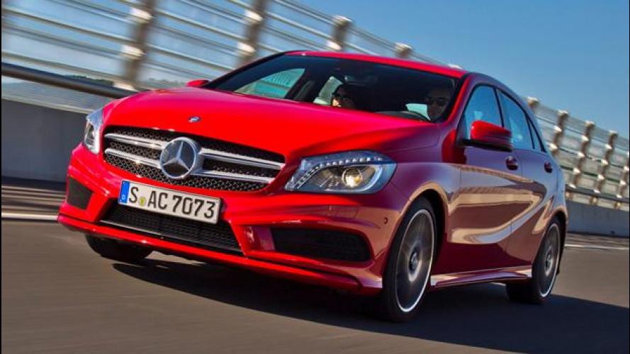Nuova Mercedes Classe A, online nuove foto
