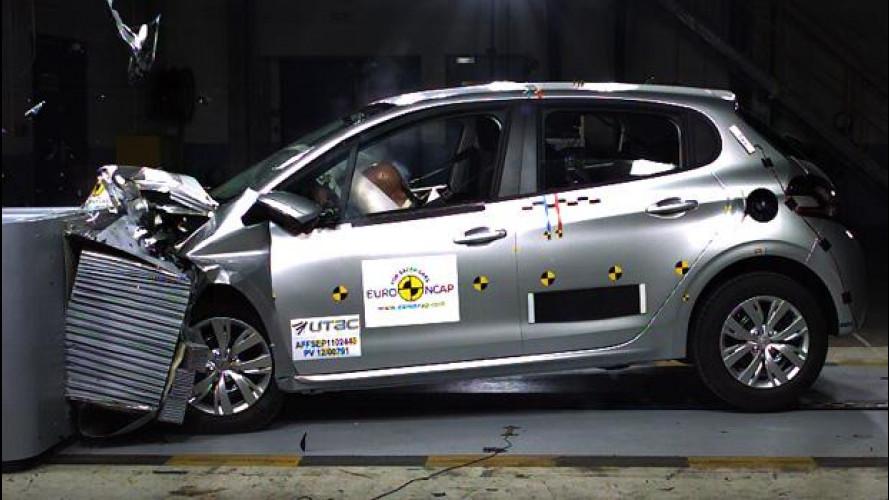 Peugeot 208: cinque stelle Euro NCAP