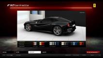 Ferrari F12berlinetta. Il sito web