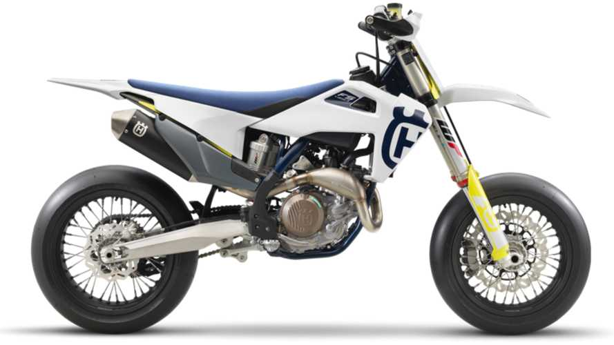Husqvarna's FS 450 Supermoto Machine Gets Upgrades For 2020