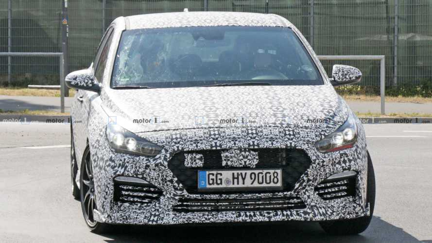 New Hyundai i30 N version spied at the Nurburgring