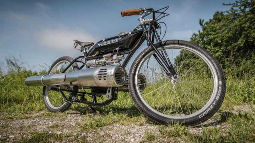 This Incredible Reproduction Motorcycle Is Entirely Fictional