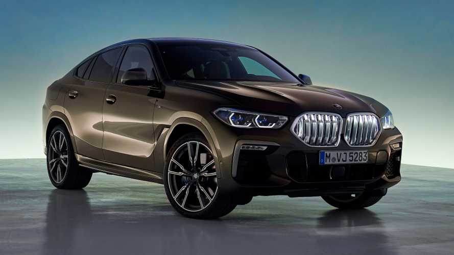 2020 BMW X6 debuts with 523-bhp twin-turbo V8, light-up grille