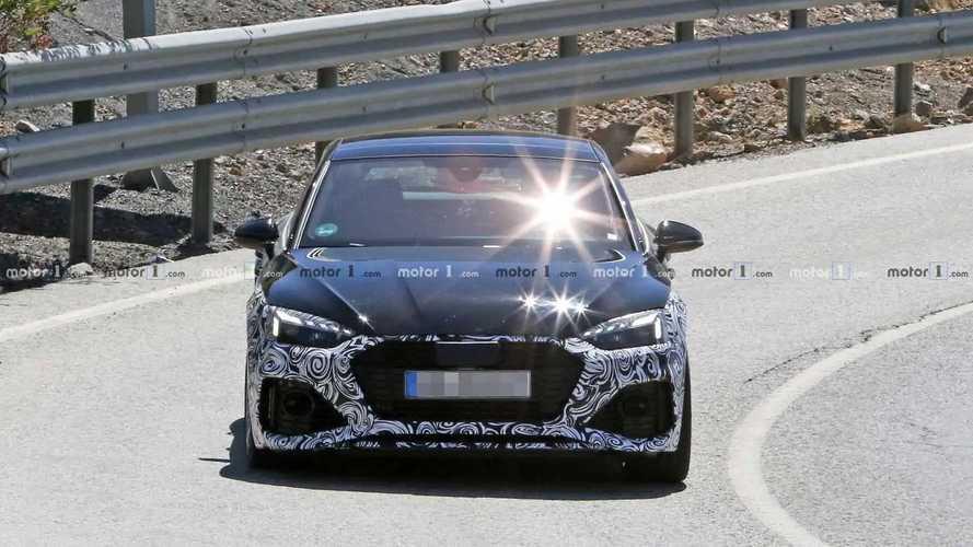 2020 Audi RS5 Sportback facelift spy photos