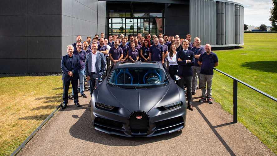 Bugatti vient de produire la 200e Chiron
