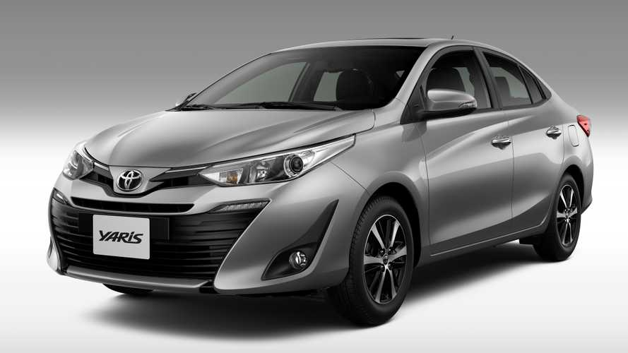 Toyota Yaris e Yaris Sedã 2020 têm aumento de preços; veja tabela