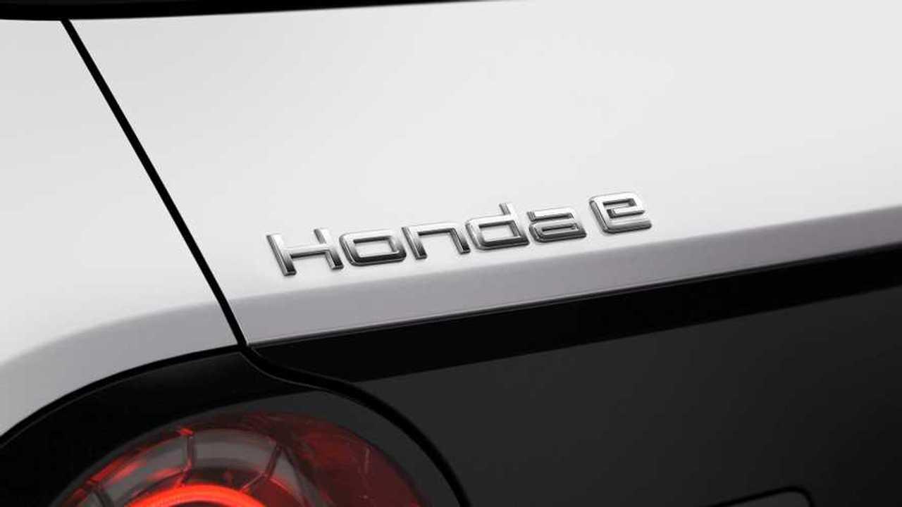 Honda e (A modell betűinek részletes képe)