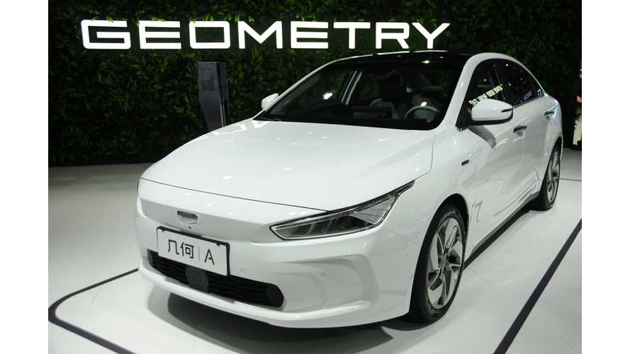 Geely Geometry A At 2019 Shanghai Auto Show: Photos & Videos