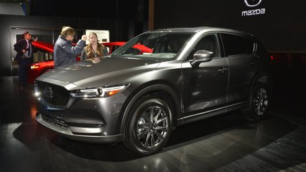 Mazda CX-5 получила вариант с дизельным двигателем