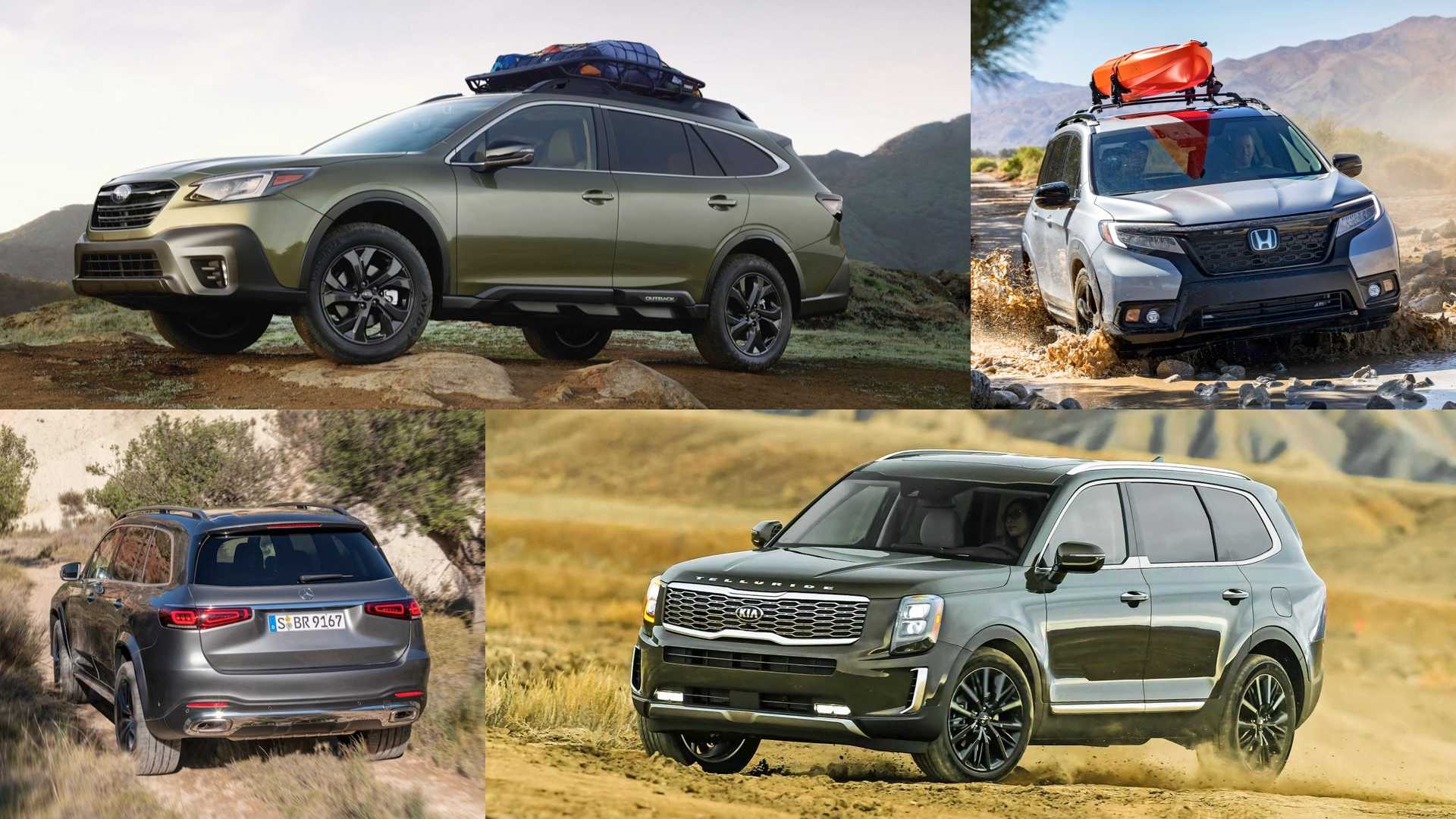 20 Crossovers That Are Surprisingly Capable Off Road