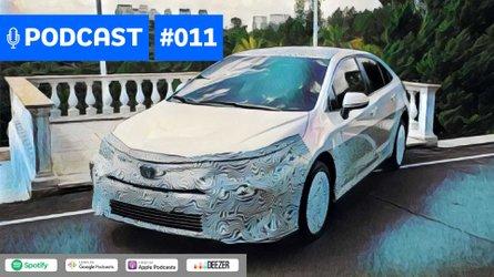Motor1.com Podcast #011: Novo Toyota Corolla chega no fim do ano