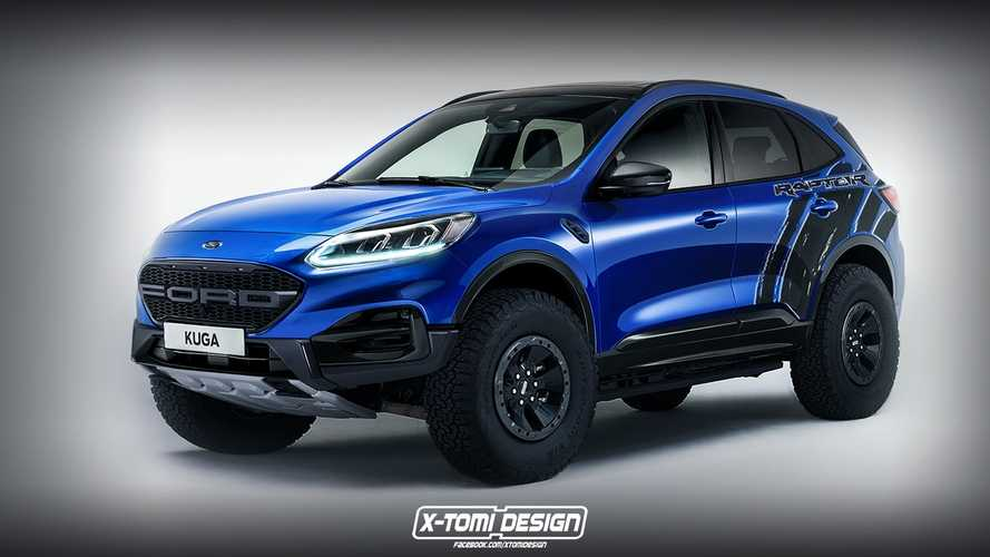 Would a Ford Kuga Raptor be crazy enough to work?