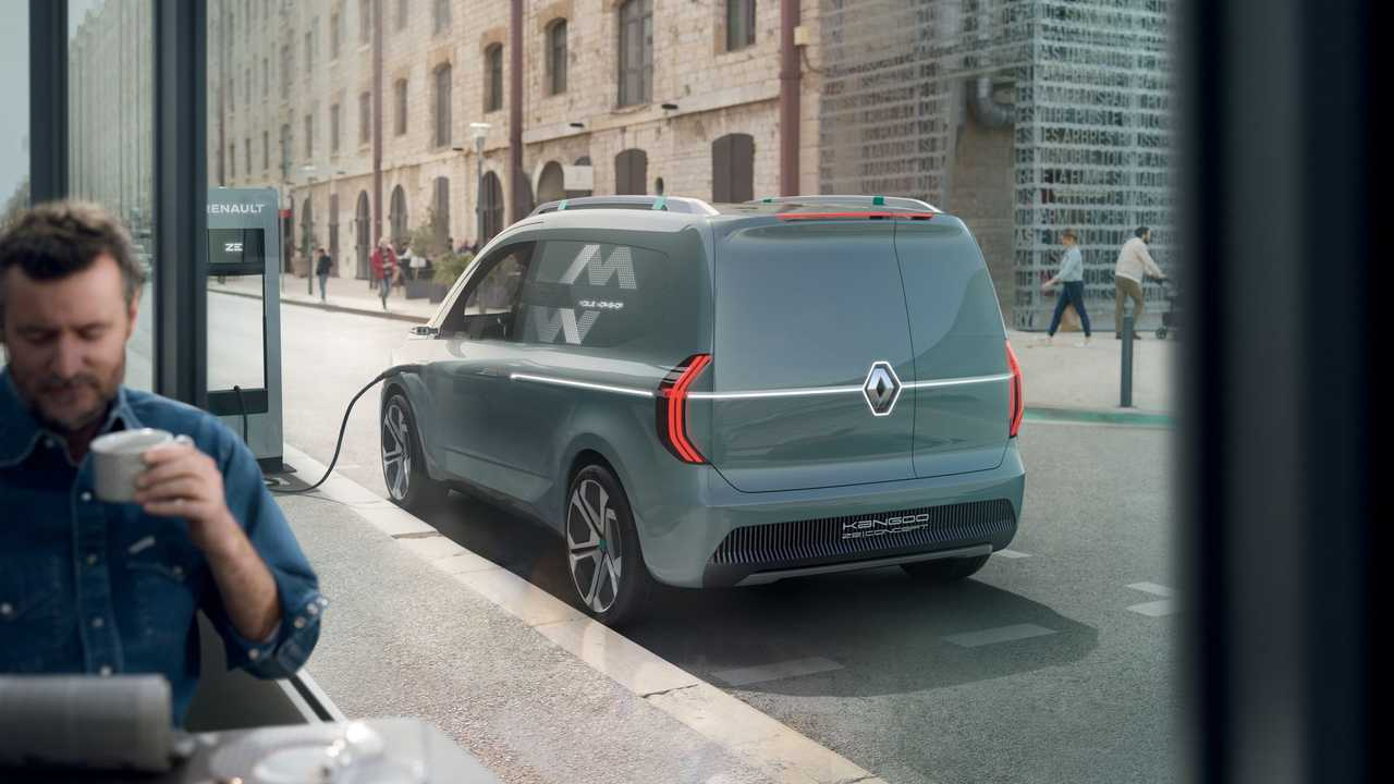 2019 Renault Kangoo ZE Concept