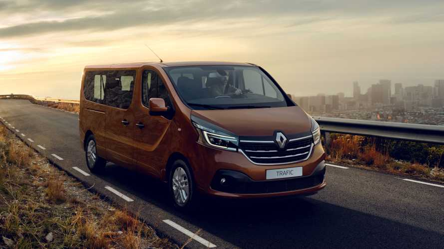 New Renault Trafic van starts at £22,800+VAT