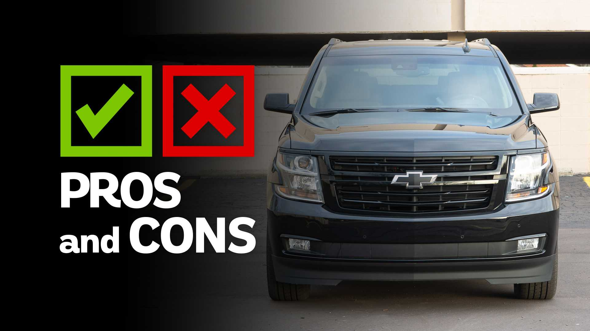 Nissan Armada Towing Capacity >> 2019 Chevrolet Suburban RST: Pros and Cons